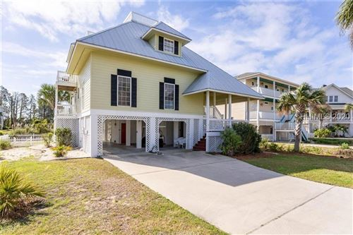 Photo of 7 Windjammer Court, Saint Helena Island, SC 29920 (MLS # 401794)