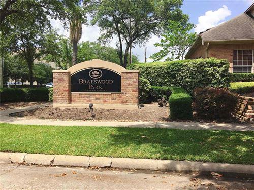 Photo of 2255 Braeswood Park Drive #116, Houston, TX 77030 (MLS # 18932078)