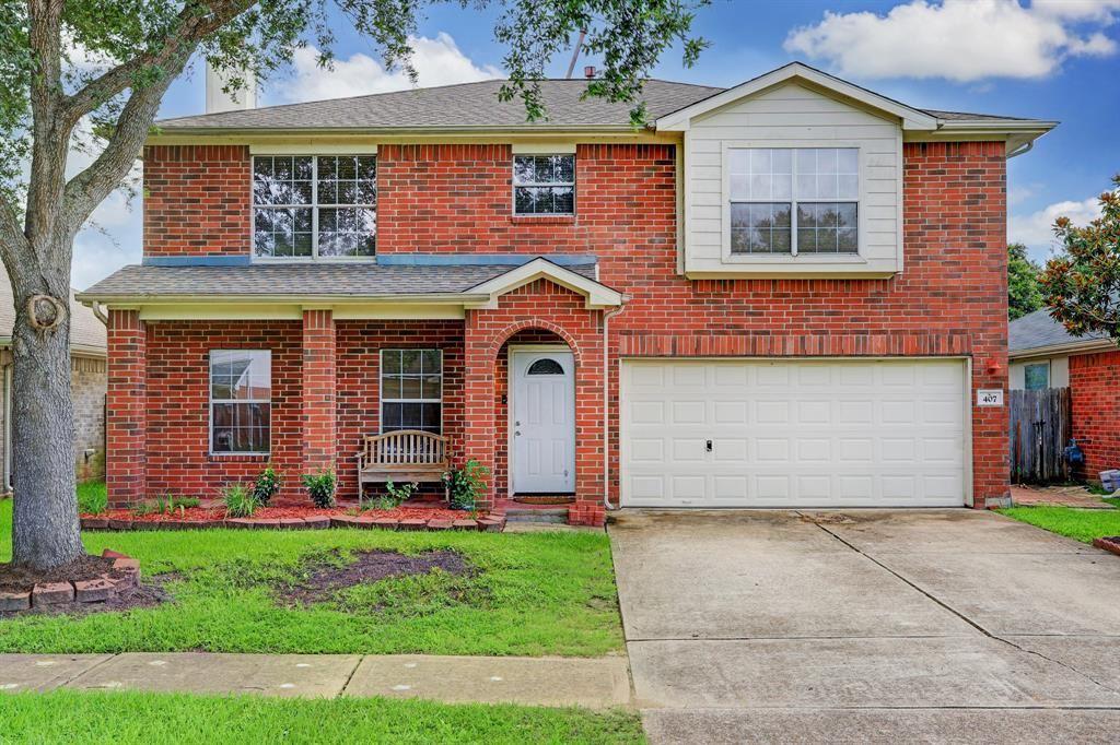 407 Brightfield Lane, Dickinson, TX 77539 - MLS#: 96717112