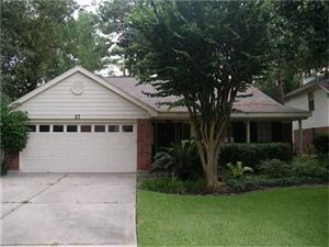 Photo of 27 Green Slope Place, The Woodlands, TX 77381 (MLS # 58537255)