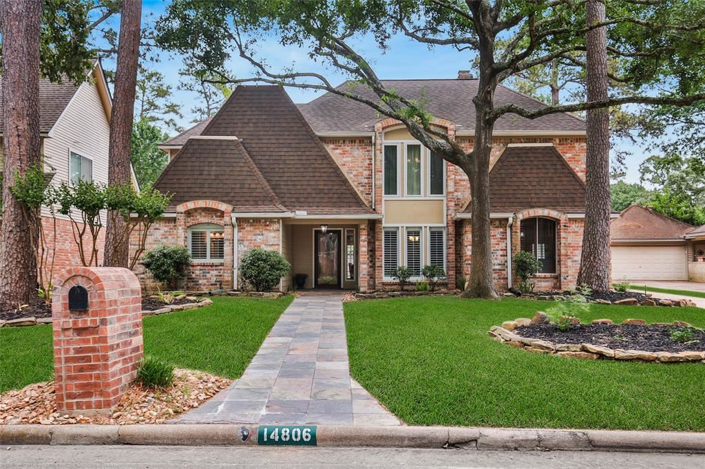 14806 Oak Bluff Court, Houston, TX 77070 - #: 68551259
