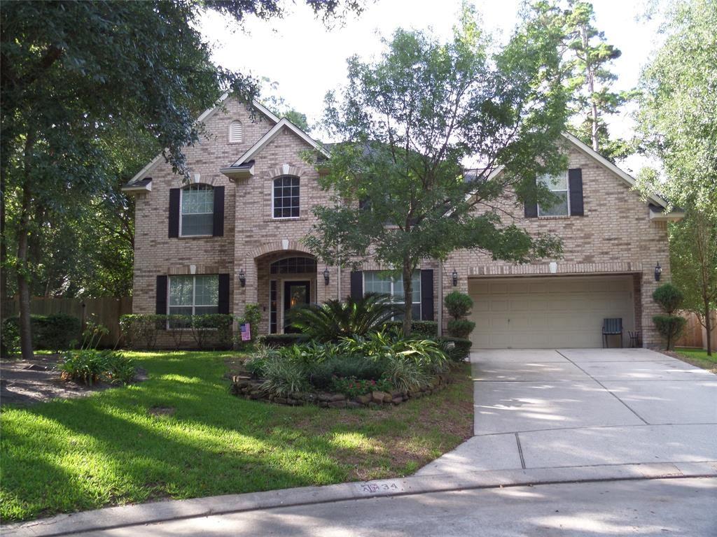 34 Hollow Glen Place, Conroe, TX 77385 - #: 51340288