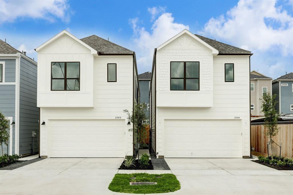 2104 Lou Ellen Lane #A UNIT A, Houston, TX 77018 - MLS#: 63229304