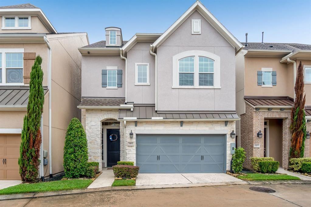 Photo for 1411 Devonshire Manor Lane, Houston, TX 77055 (MLS # 81991364)