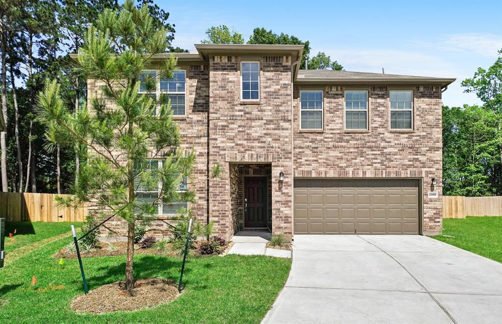 2300 North Amber Ruse Court, Conroe, TX 77304 - #: 95507405