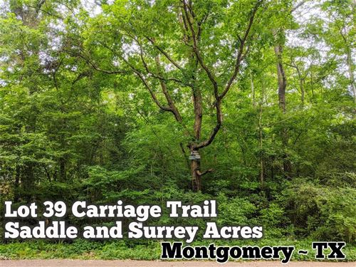 Photo of Lot 39 Carriage Trail, Conroe, TX 77316 (MLS # 97634414)