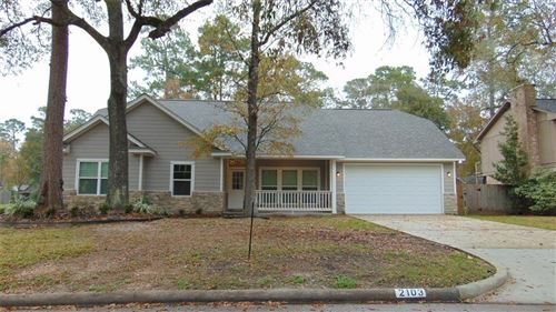 Photo of 2103 Lone Rock Drive, Houston, TX 77339 (MLS # 8581444)