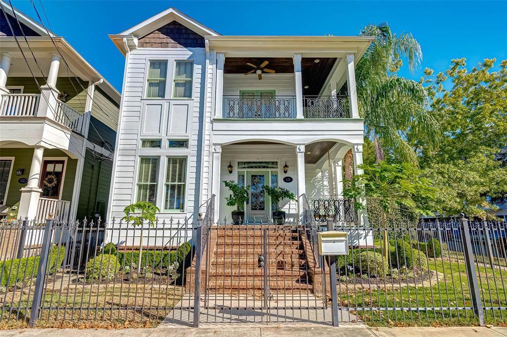 628 Oxford Street, Houston, TX 77007 - #: 78657459
