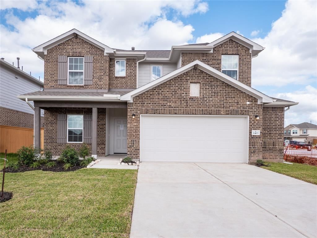2413 Brich Manor Drive, Rosharon, TX 77583 - MLS#: 76666493
