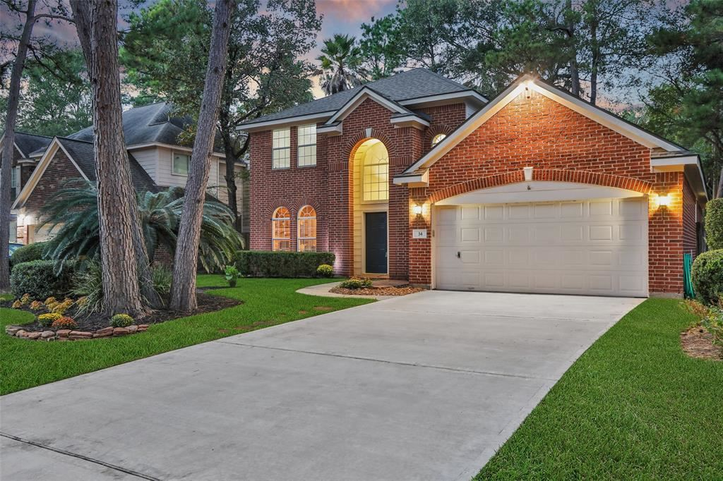 34 S Lace Arbor Drive, The Woodlands, TX 77382 - #: 42993570
