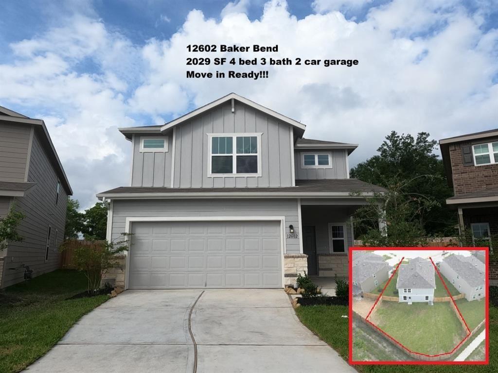 12602 Baker Bend Street, Houston, TX 77034 - #: 33224625