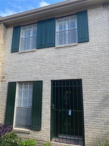 Tiny photo for 1715 Moritz Drive #27, Houston, TX 77055 (MLS # 10396640)