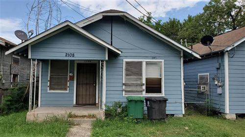 Photo of 2108 Bleker Street, Houston, TX 77026 (MLS # 37170802)