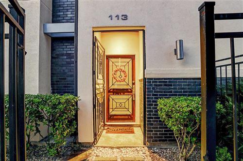 Tiny photo for 113 Tuam Street, Houston, TX 77006 (MLS # 9579806)