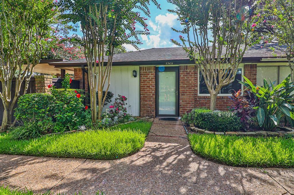 5347 Pinewilde Drive #A UNIT A, Houston, TX 77066 - #: 88028818