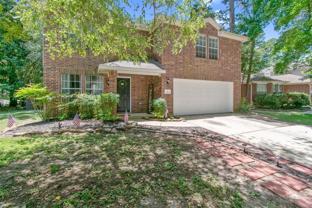 3 Shimmer Pond Place, The Woodlands, TX 77385 - MLS#: 92312830