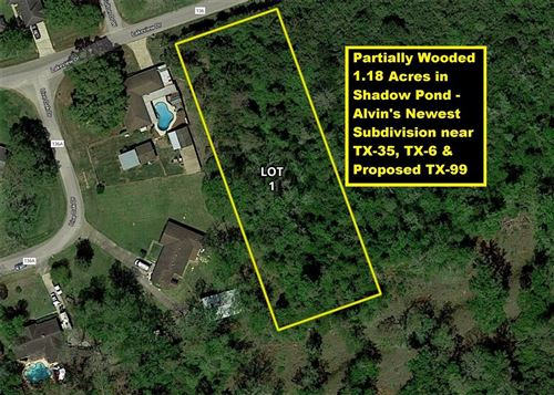 Photo of 53 Lakeview Drive  Lot 1, Alvin, TX 77511 (MLS # 98160901)