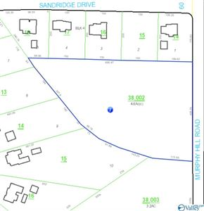 Photo of 0 MURPHY HILL ROAD, HAZEL GREEN, AL 35750 (MLS # 1123000)