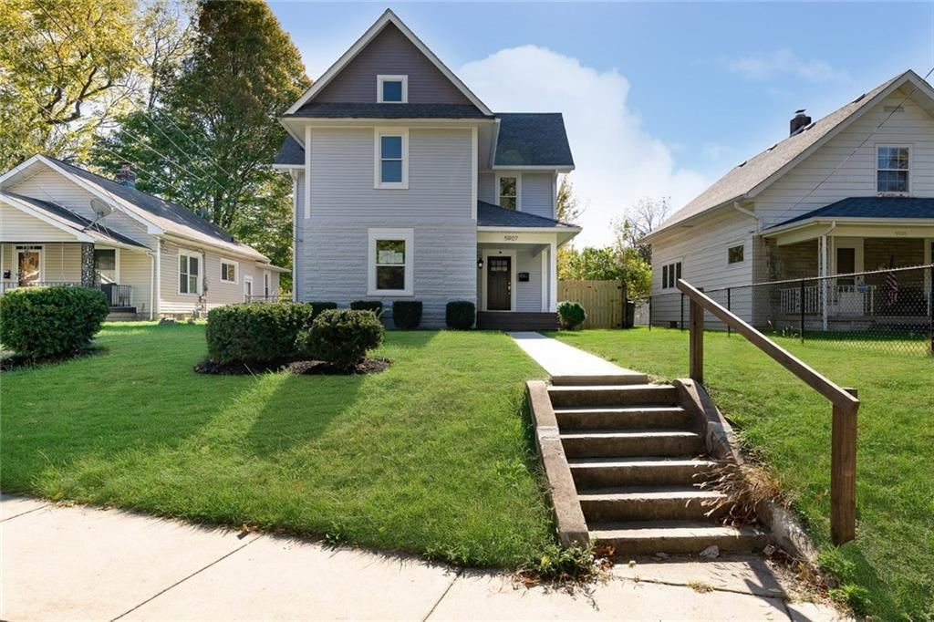 5907 East RAWLES Avenue, Indianapolis, IN 46219 - #: 21712000