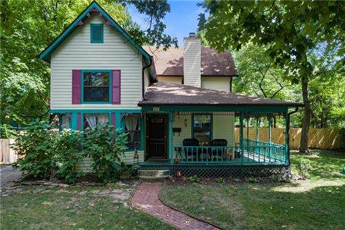 Photo of 617 WOODRUFF PL E Drive, Indianapolis, IN 46201 (MLS # 21712002)