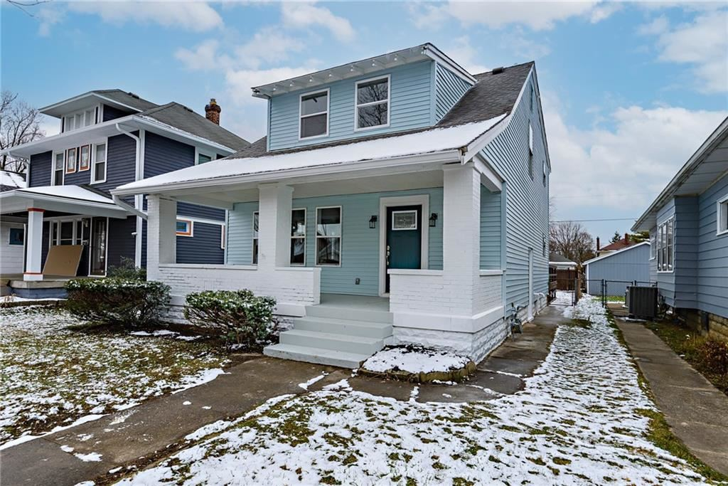 612 North dequincy Street, Indianapolis, IN 46201 - #: 21758002