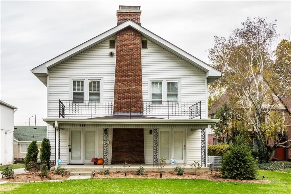 987 Campbell Avenue, Indianapolis, IN 46219 - #: 21678005