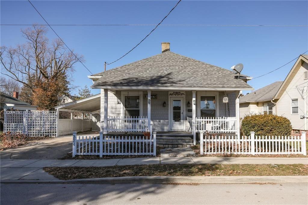 324 West Pearl Street, Greenwood, IN 46142 - #: 21761010