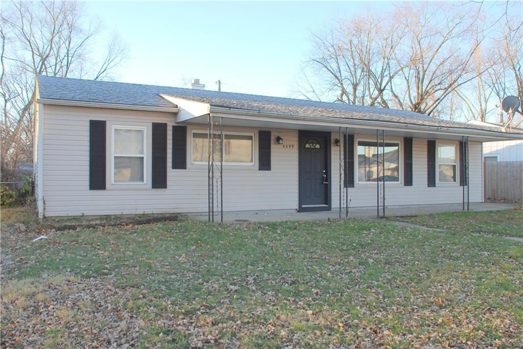 5549 Dunk Drive, Indianapolis, IN 46224 - #: 21756013