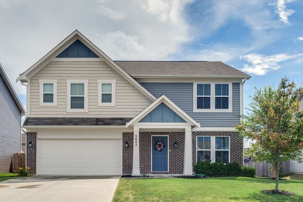 5607 West Woods Edge Drive, McCordsville, IN 46055 - #: 21736020