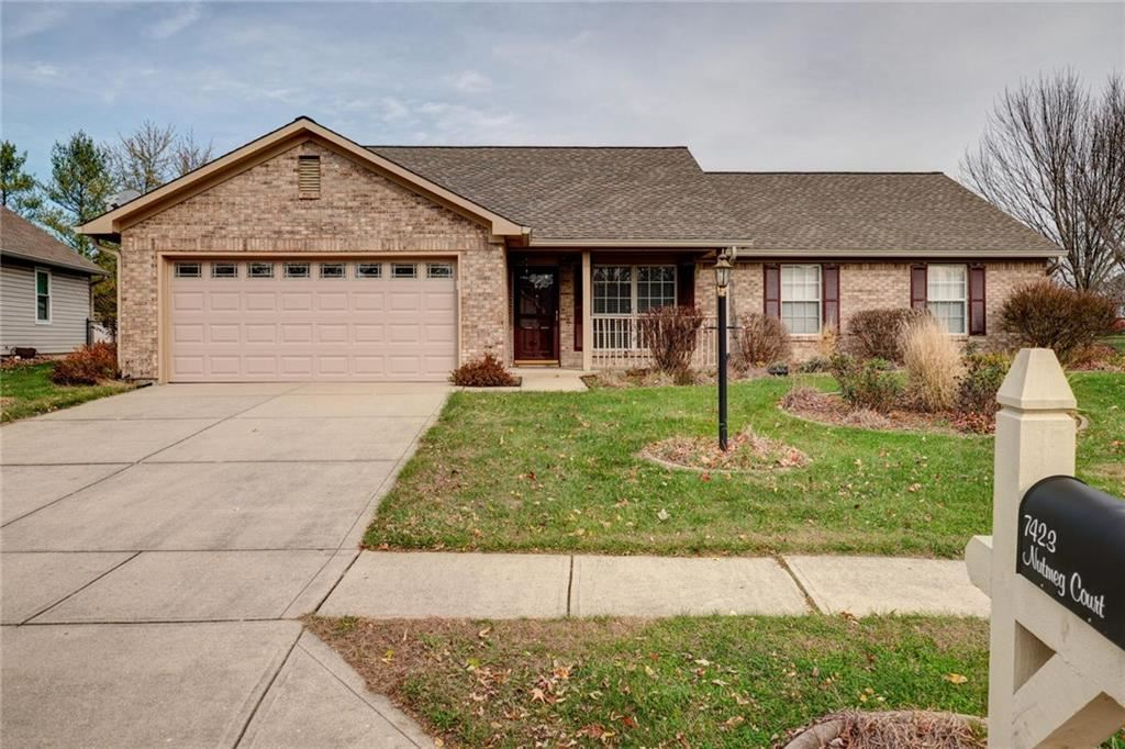 7423 Nutmeg Court, Indianapolis, IN 46237 - #: 21753020