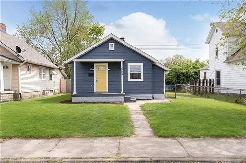 Photo of 3825 East 11th Street, Indianapolis, IN 46201 (MLS # 21784022)