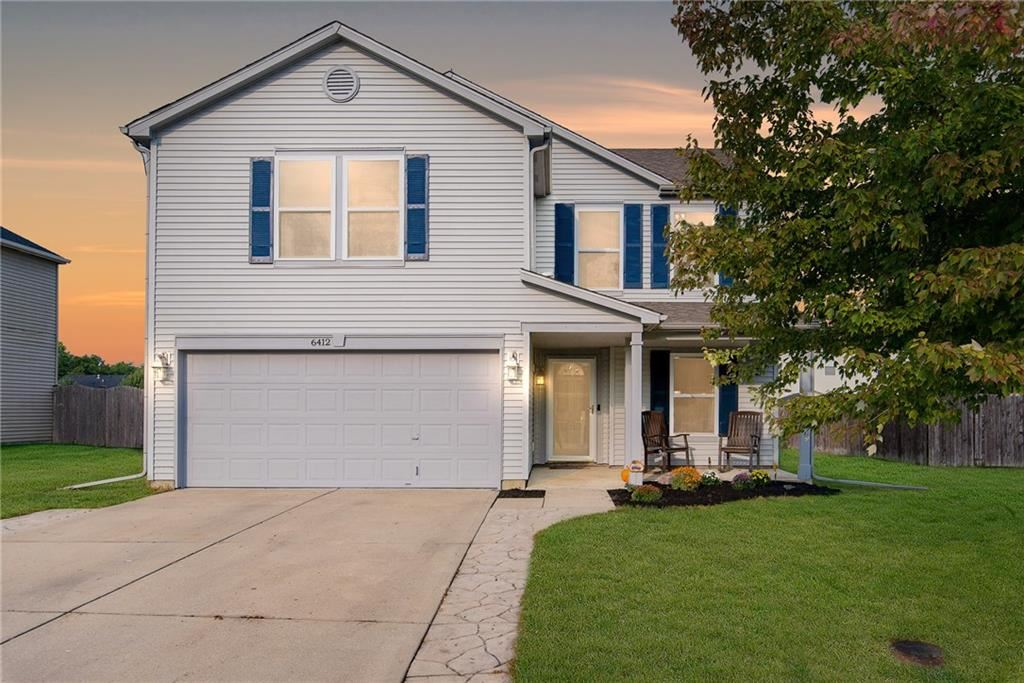 6412 Amber Valley Lane, Indianapolis, IN 46237 - #: 21738024