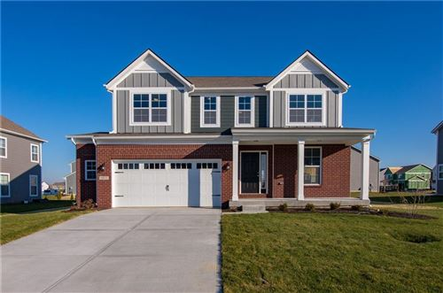 Photo of 9833 Gallop Lane, Fishers, IN 46040 (MLS # 21729025)