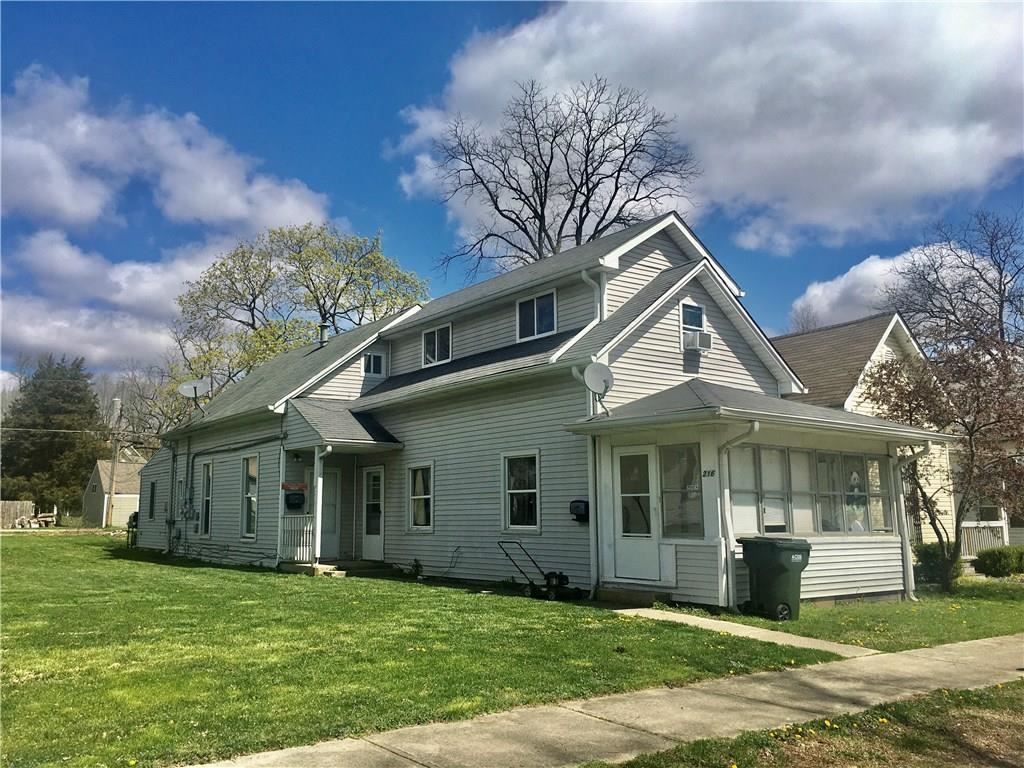 216 East LINCOLN Street, Greenfield, IN 46140 - #: 21704046