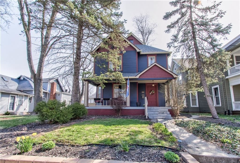 Photo of 973 Woodruff Place Middle Drive, Indianapolis, IN 46201 (MLS # 21776054)
