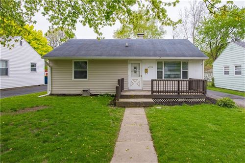Photo of 4738 North Mitchner Avenue, Indianapolis, IN 46226 (MLS # 21681062)