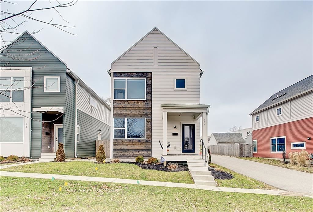 32 Central Greens Boulevard, Indianapolis, IN 46222 - #: 21690062