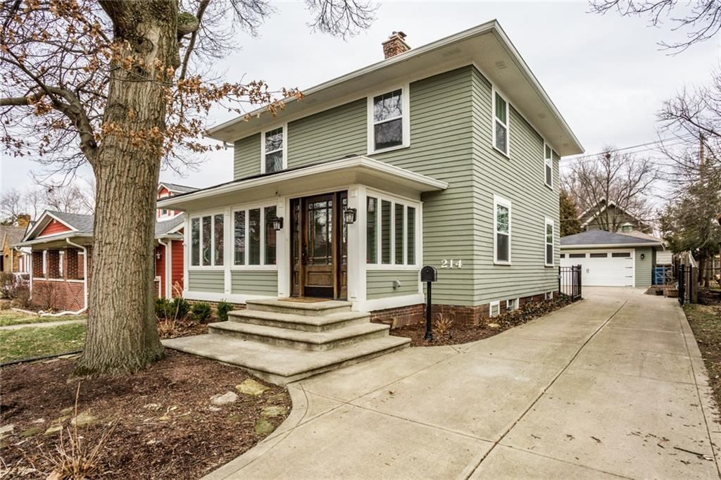 214 West 44th Street, Indianapolis, IN 46208 - #: 21696062