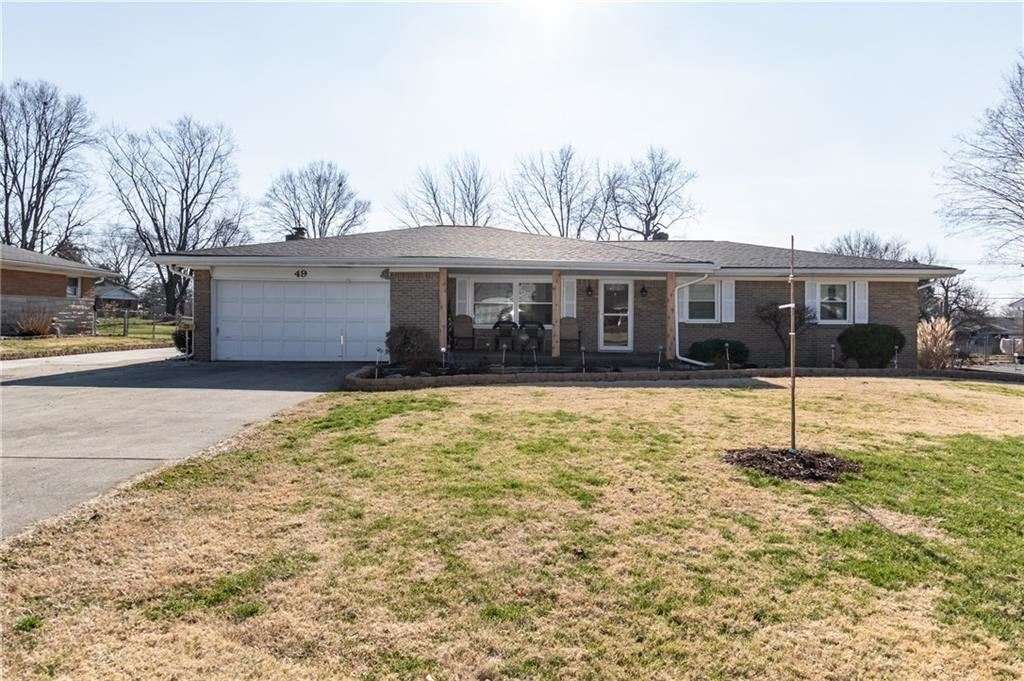 49 East Hickory Lane, Indianapolis, IN 46227 - #: 21689069