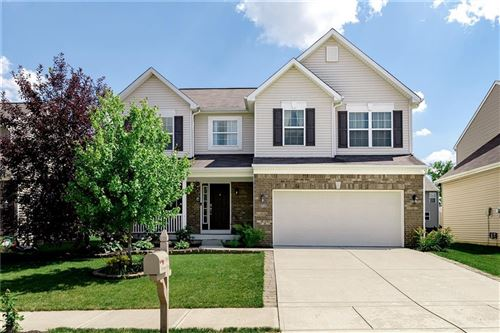 Photo of 11855 Bellhaven Drive, Fishers, IN 46038 (MLS # 21723074)