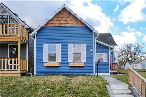 Photo of 237 East Minnesota Street, Indianapolis, IN 46225 (MLS # 21761084)