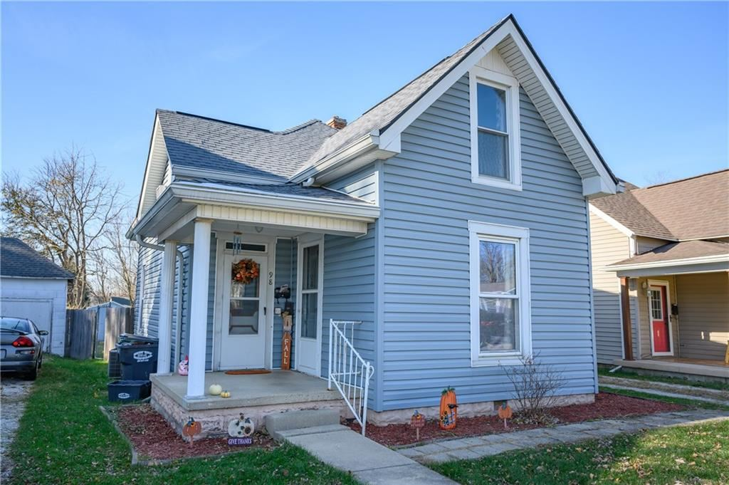 Photo of 98 North Brewer Street, Greenwood, IN 46142 (MLS # 21753092)