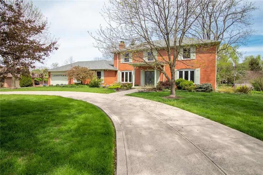 1206 Frederick S Drive, Indianapolis, IN 46260 - #: 21708095