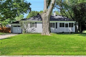 Photo of 6024 North Oakland, Indianapolis, IN 46220 (MLS # 21670113)