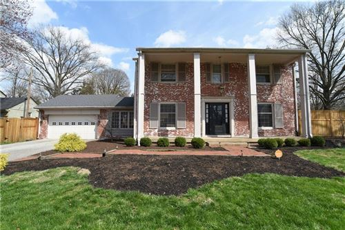 Photo of 5851 Carvel Avenue, Indianapolis, IN 46220 (MLS # 21704120)