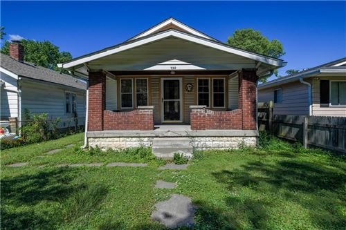 Photo of 732 North Rochester Avenue, Indianapolis, IN 46222 (MLS # 21696132)