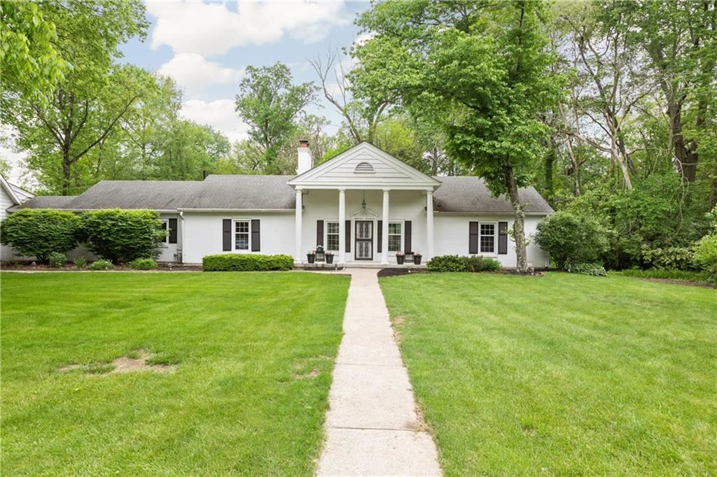 8976 Spring Mill Road, Indianapolis, IN 46260 - #: 21691154
