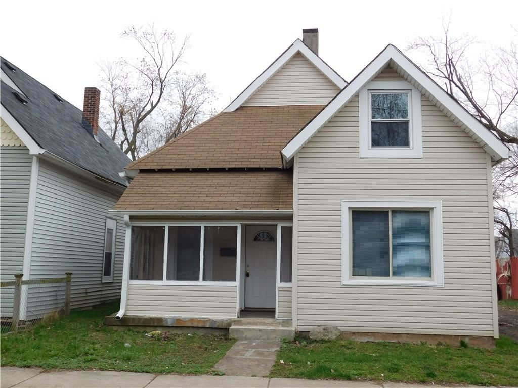 1553 West New York Street, Indianapolis, IN 46222 - #: 21613157