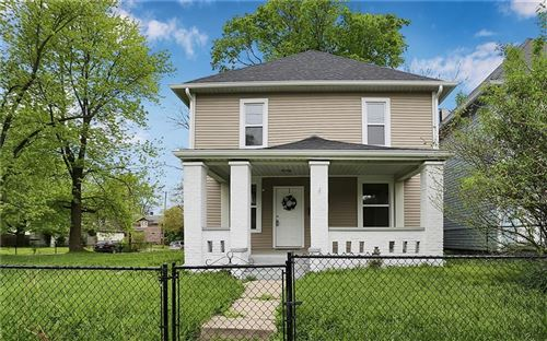 Photo of 1108 North Rural Street, Indianapolis, IN 46201 (MLS # 21707161)