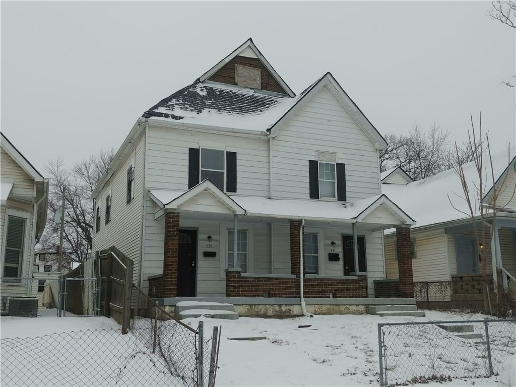 238 North BEVILLE, Indianapolis, IN 46201 - #: 21768162